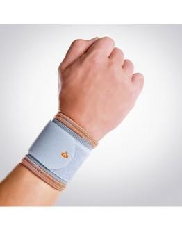 Suporte elástico curto de pulso com banda