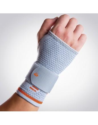 Suporte elástico longo de pulso com banda