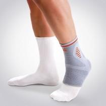 Suporte de tornozelo elástico com almofadas em gel (sem latex)