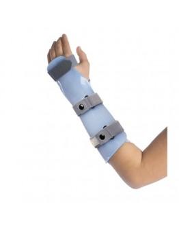 Ortótese imobilizadora bivalva para ante-braço